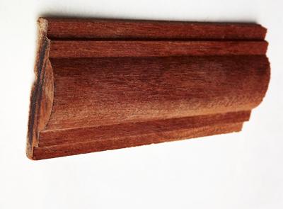 天然红胡桃木线条