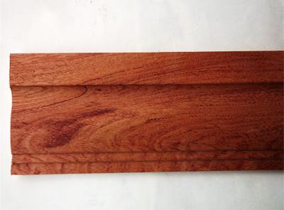 半圆天然木线